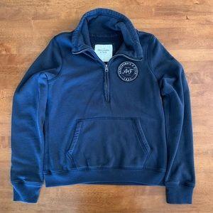 Abercrombie & Fitch Half-Zip Sweatshirt